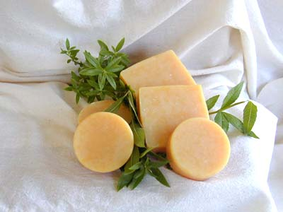 Lemon Verbena Soap - 2.5 Oz Round Bar