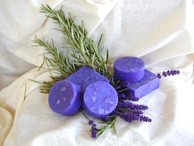 Rosemary & Lavender Soap - 2.5 Oz Round Bar