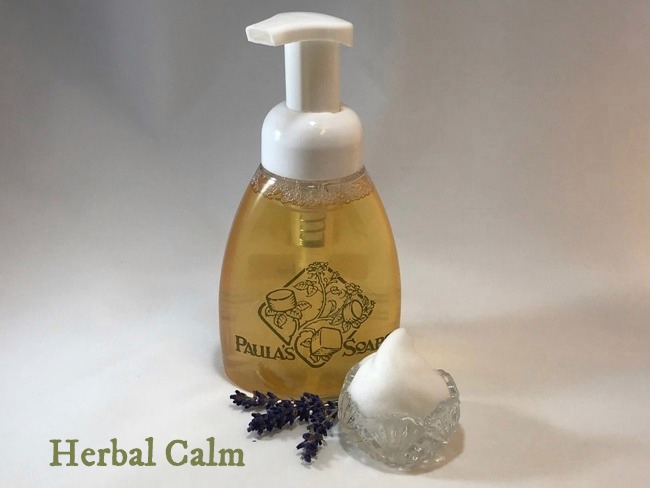 Herbal Calm Liquid Soap - 8 Oz Bottle